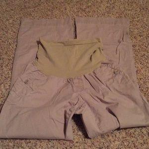 Motherhood Maternity khaki pants M